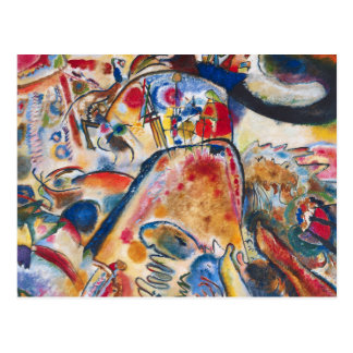 Kandinsky Small Pleasures Postcard