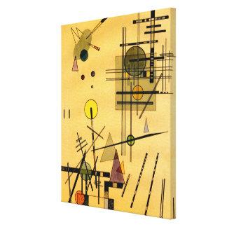 Kandinsky - Strings Canvas Print