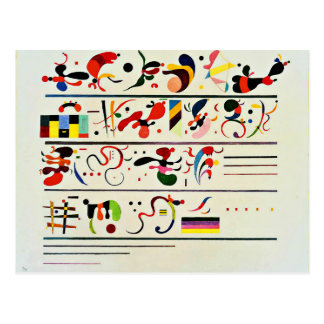 Kandinsky - Succession Postcard