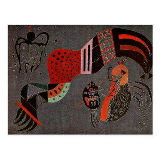 Kandinsky - Tempered Elan Postcard