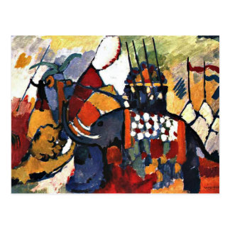 Kandinsky - The Elephant Postcard