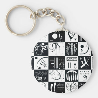 Kandinsky Thirty Key Chain