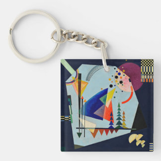 Kandinsky - Three Sounds Key Ring
