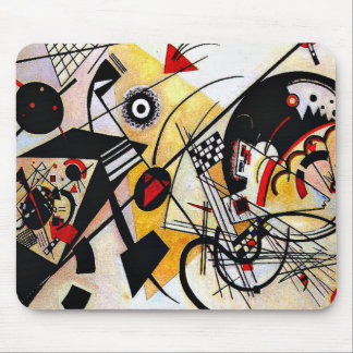 Kandinsky - Throughgoing Line Mouse Pad