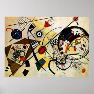 Kandinsky - Transverse Line Poster