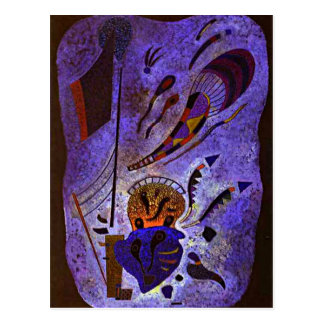 Kandinsky - Twilight Postcard