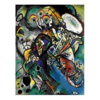 Kandinsky - Two Ovals Postcard