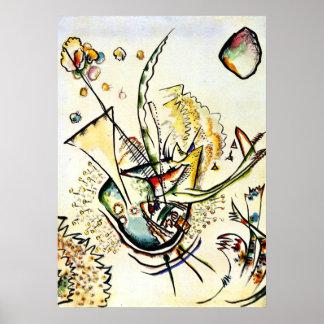Kandinsky - Untitled, 1918 Poster