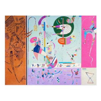 Kandinsky Various Parts Postcard