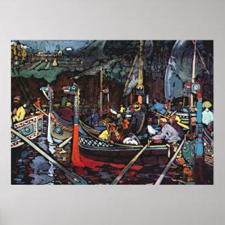 Kandinsky - Volga Song Poster
