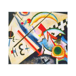 Kandinsky White Cross Canvas Prints