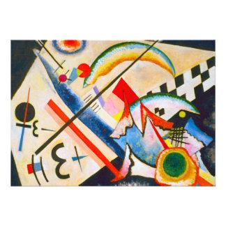 Kandinsky White Cross Invitations