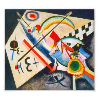 Kandinsky White Cross Photo Print