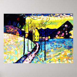 Kandinsky - Winter Landscape Poster