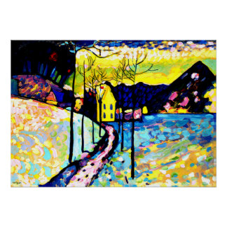 Kandinsky - Winter Landscape Posters