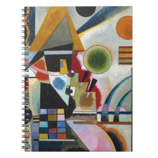 Kandinsky's Abstract Painting Swinging Notebook