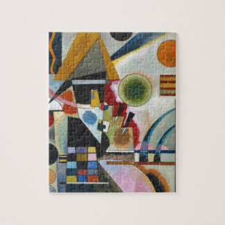 Kandinsky's Abstract Painting Swinging Puzzle