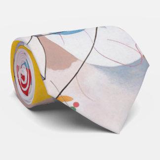 Kandinsky's Dominant Curve Abstract Tie
