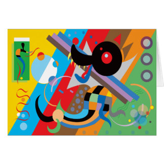 Kandinsky's Puppy Card