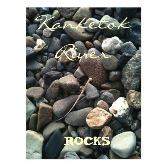 Kanektok River ROCKS! Postcard