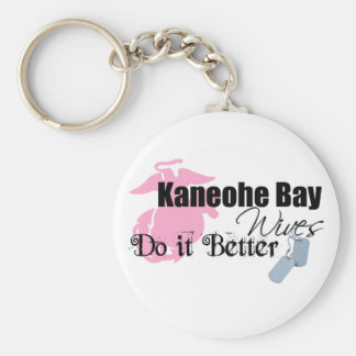 Kaneohe Bay Wives Do It Better Keychain