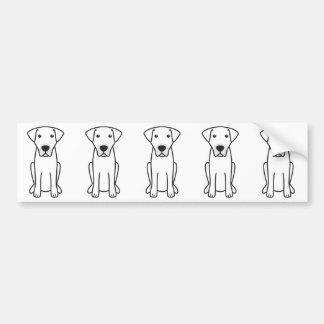 Kangal Dog Cartoon Bumper Sticker