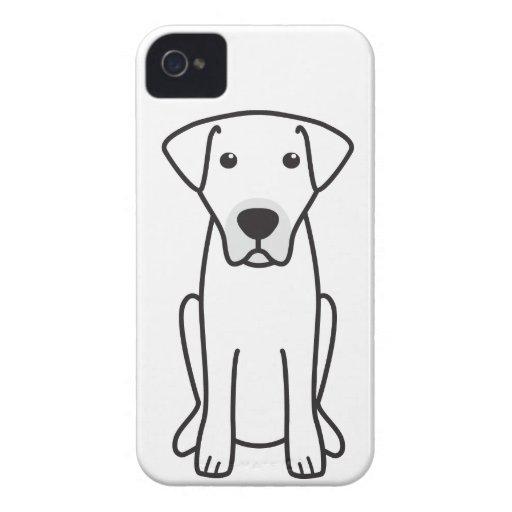 Kangal Dog Cartoon iPhone 4 Case