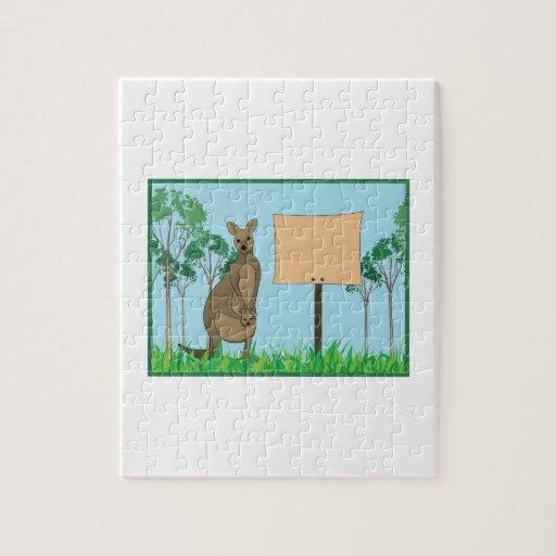 Kangaroo Base Puzzle