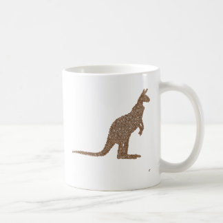Kangaroo Basic White Mug