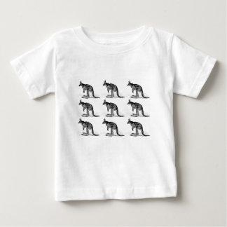 kangaroo boxed in square baby T-Shirt