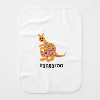 Kangaroo Burp Cloth