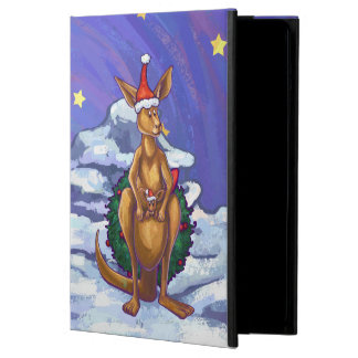 Kangaroo Christmas Starry Night iPad Air Cases