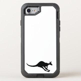 kangaroo cute baby animal fun joy happy beautiful OtterBox defender iPhone 8/7 case