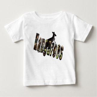 Kangaroo Dimensional Picture Logo, Baby T-Shirt