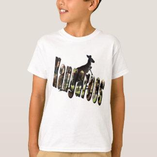 Kangaroo Dimensional Picture Logo, T-Shirt