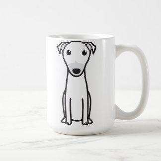 Kangaroo Dog Cartoon Basic White Mug