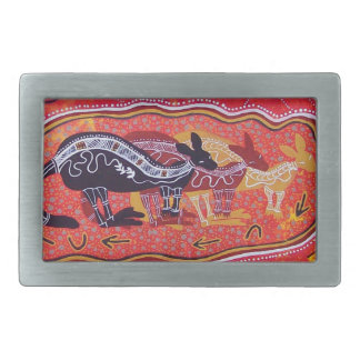 Kangaroo Dreaming Belt Buckle