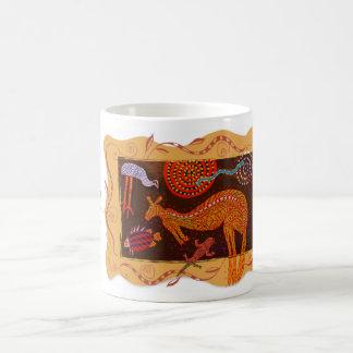 'Kangaroo Dreams' Basic White Mug