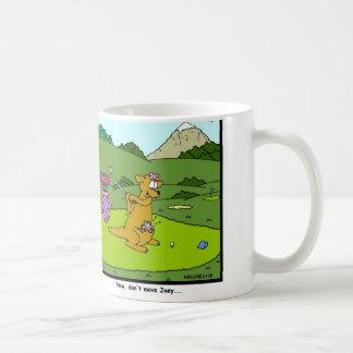 Kangaroo Golf Coffee Mug