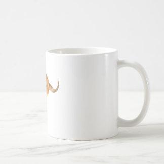 Kangaroo Hopping Basic White Mug