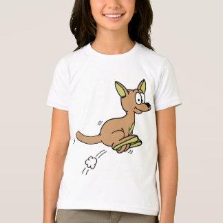Kangaroo Joey Cartoon T-Shirt