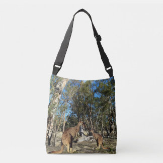 Kangaroo_Joey_Talk_Time_Fullprint_Cross_Body_Bag Crossbody Bag