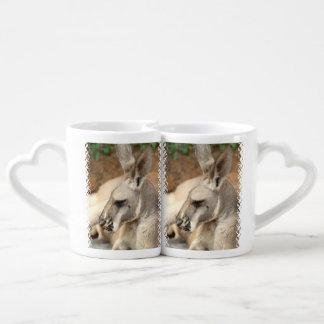 Kangaroo Lovers Mug Sets