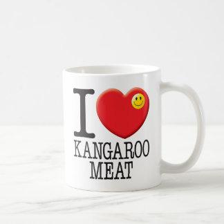 Kangaroo Meat Coffee Mugs