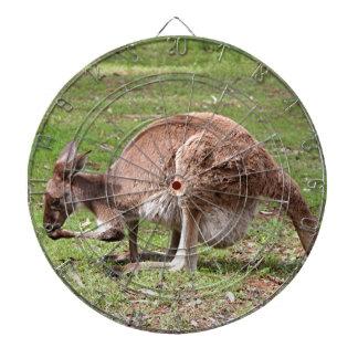 Kangaroo, Outback Australia Dartboard