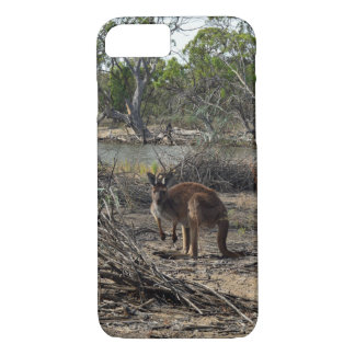 Kangaroo,_Outback,_Australia,_iPhone_Six_Case. iPhone 7 Case