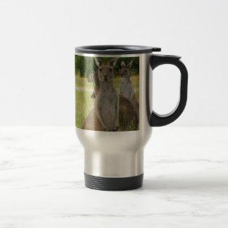 Kangaroo Paddock Stainless Steel Travel Mug