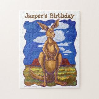 Kangaroo Party Center Puzzles