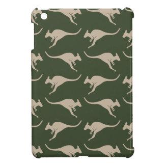 Kangaroo pattern iPad Mini case. iPad Mini Case