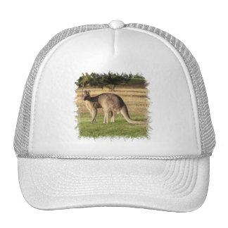 Kangaroo Picture Baseball Hat